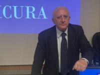 """""""La parola d'ordine sarà 'Campania Sicura'"""", il governatore De Luca incontra i settori Turismo e Cultura"""