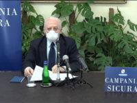"""Covid-19. La Regione stanzia 7 milioni di euro per la ricerca scientifica, De Luca: """"Guardiamo al futuro"""""""
