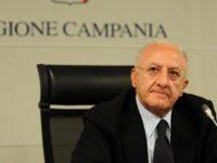 """Raddoppiate le pensioni al minimo in Campania. De Luca:""""Giornata storica, fatti non parole"""""""