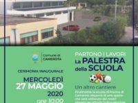 Domani a Marina di Camerota l'Amministrazione inaugura il cantiere della palestra della scuola media