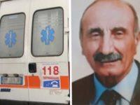 Tragico incidente a Trinità di Sala Consilina. Muore anziano intento a lavorare nel suo terreno