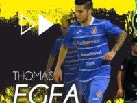 Sporting Sala Consilina. Thomas Egea il primo colpo di mercato. Confermati Tutilo, Vavà e Ferreira