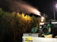 Questa sera trattamenti di sanificazione ambientale sui territori comunali di Montesano e Padula