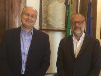 """Il Presidente della Provincia di Salerno incontra il Rettore Unisa. """"Avvieremo una collaborazione concreta"""""""