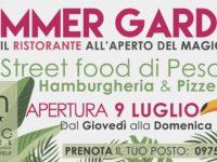 Dal giovedì alla domenica – Street food di pesce, hamburgeria e pizzeria – Summer Garden del Magic Hotel