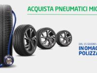 Atena Lucana: Polizza Salute in omaggio su acquisto di pneumatici Michelin all'Officina Euromaster Marchesano