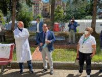 """La Pro Loco di Sassano e l'associazione """"Finamore"""" donano apparecchiature mediche all'ospedale di Polla"""