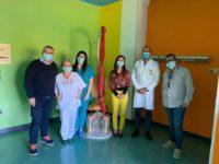 """Ospedale Polla.Con raccolta fondi """"AmoDiano"""" donata al reparto di Ginecologia multitrac per il parto naturale"""