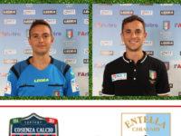 Sezione Arbitri Sala Consilina. Manuel e Ivan Robilotta designati per Cosenza – Virtus Entella in Serie B