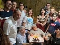 Buccino in festa per i 100 anni di nonna Annina Sciarrillo