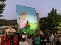 """Inaugurato a Vietri di Potenza il primo murale monumentale del progetto """"I muri della legalità"""""""