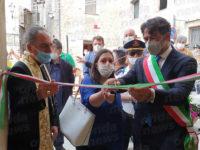 """Taglio del nastro per la Cappella Santa Rosalia a Bosco. Palazzo:""""Restituiamo pezzo di storia alla comunità"""""""