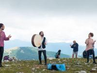 """""""Il Gigante della Campania 2020"""" trionfa sul Monte Cervati. Successo per lo spettacolo di Enzo D'Arco"""