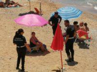 """""""Castellabate sicura"""", scattano i controlli sulle spiagge per verificare il distanziamento sociale"""