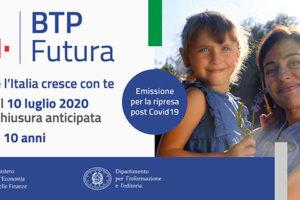 """Nuovo titolo di Stato BTP Futura. Banca Monte Pruno:""""Dal 6 luglio partono le sottoscrizioni"""""""