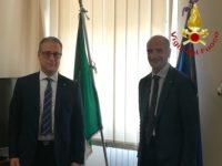 Cambio della guardia nella Direzione Regionale Vigili del Fuoco della Basilicata.Boscaino succede a Franculli