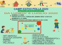 Polla: il 6 luglio prendono il via i Campi Estivi per bambini