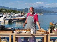 Le telecamere di Sky e Chef Giorgione a Scario per raccontare le eccellenze culinarie del Cilento