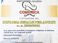 """Al """"Sacco"""" di Sant'Arsenio aperte le iscrizioni per i corsi serali di Sala e Vendita ed Enogastronomia"""