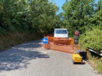 Viabilità in provincia di Salerno. Consegnati i lavori a Orria sulla S.P.264