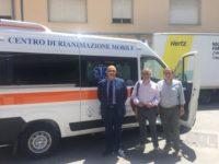 Ospedale di Lagonegro. Inaugurato il Centro Mobile di Rianimazione di tipo C