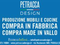 """""""Compra in fabbrica. Compra Made in Vallo"""". Da Petracca Design dai valore alle produzioni del territorio"""