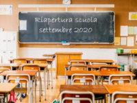 Riapertura della scuola in Campania. Il 24 settembre si torna in classe