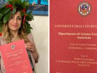 Con la tesi sul carciofo bianco Rosalba Soldovieri,originaria di Auletta,si laurea da casa ai tempi del Covid