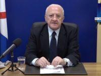 """Covid-19. Il Presidente De Luca: """"La Campania è la regione che ha retto meglio. Ora bisogna essere prudenti"""""""
