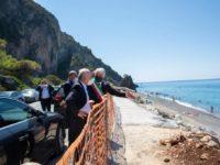 """Dopo la visita a Camerota De Luca stanzia 10 milioni per la costa. Scarpitta:""""Un finanziamento importante"""""""