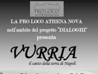 """Atena Lucana: il 1° agosto lo spettacolo musicale """"Vurria, il canto della terra di Napoli"""""""