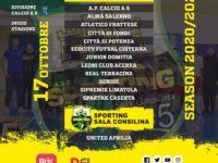 """Sporting Sala Consilina.Varato il girone,il team nero-verde con laziali e lucane.Detta: """"Aspettative deluse"""""""