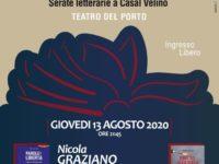 Domani a Casal Velino serata letteraria con il magistrato Nicola Graziano e l'avvocato Angelo Pisani
