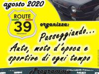 """Teggiano: il 9 agosto raduno di auto e moto d'epoca e sportive a cura dell'associazione """"Route 39"""""""