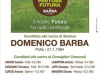 Elezioni Amministrative 2020: Pertosa – Lista n°2 PERTOSA FUTURA – Candidato sindaco DOMENICO BARBA