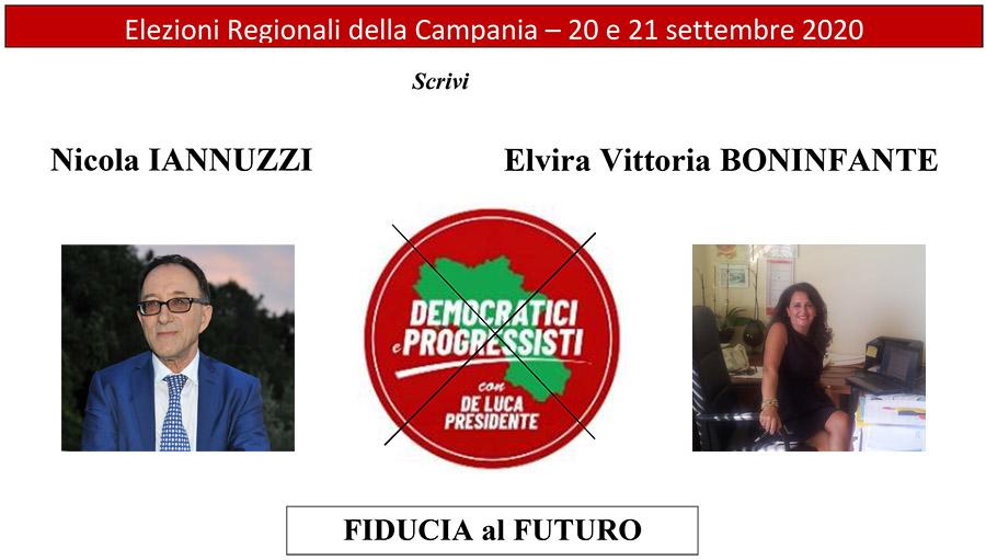 Elezioni Regionali 2020: IANNUZZI - BONINFANTE -Democratici e Progressisti con De LUCA PRESIDENTE - Ondanews.it