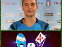 Manuel Robilotta, arbitro della sezione AIA di Sala Consilina, in serie A con Spal-Fiorentina