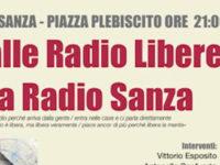 """""""Dalle Radio Libere a Radio Sanza"""". Il 13 agosto tavola rotonda per celebrare la rivoluzione comunicativa"""