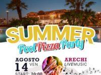 """Il 14 agosto """"Summer Pool Pizza Party"""" all'Araba Fenice Hotel & Resort di Altavilla Silentina"""