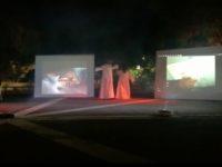 San Pietro al Tanagro: l'anfiteatro di Piazza Enrico Quaranta palcoscenico naturale dell'Inferno Dantesco