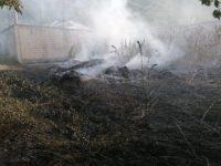 Ancora incendi nel Vallo di Diano. In fiamme vegetazione in località Castagneta a Teggiano