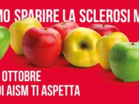 """Il 2, 3 e 4 ottobre torna nelle piazze italiane """"La Mela di AISM"""" contro la Sclerosi Multipla"""