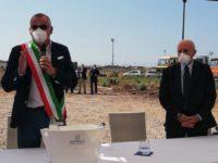 Eboli: avviati i lavori del depuratore di Coda di Volpe alla presenza del Governatore De Luca