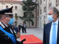 In Basilicata il Governatore Bardi incontra i rappresentanti della Guardia di Finanza e dei Carabinieri