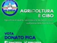 """Elezioni regionali. Donato Pica aderisce al Manifesto di Coldiretti """"L'agricoltura che vogliamo 2020/2025"""""""