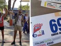 Italian Ultra Marathon Festival. Dopo 160 km Antonio Curcio di Picerno si laurea vice campione d'Italia