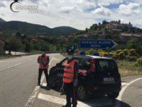 Controlli dei Carabinieri sulle strade del Potentino. Diverse persone denunciate alla guida in stato di ebbrezza