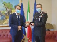 Il presidente del Consiglio regionale lucano incontra il neo Comandante della Legione Carabinieri