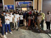 Elezioni Regionali. Corrado Matera incontra i giovani nella sede elettorale di Teggiano