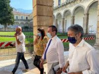 Nella Certosa di San Lorenzo a Padula la visita a sorpresa del Vice Presidente della Camera Ettore Rosato